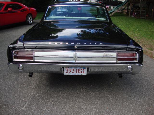 Oldsmobile Cutlass Coupe California Black Plate Car Frame Off Restoration