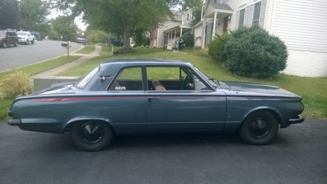 1965 Plymouth Valiant Slant 6 Custom Paint Solid Runner