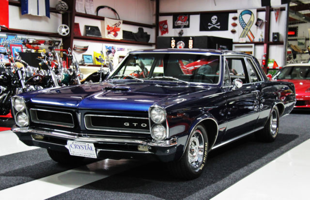 1965 Pontiac Gto Sport Coupe 4 Owner Car Classic Pontiac