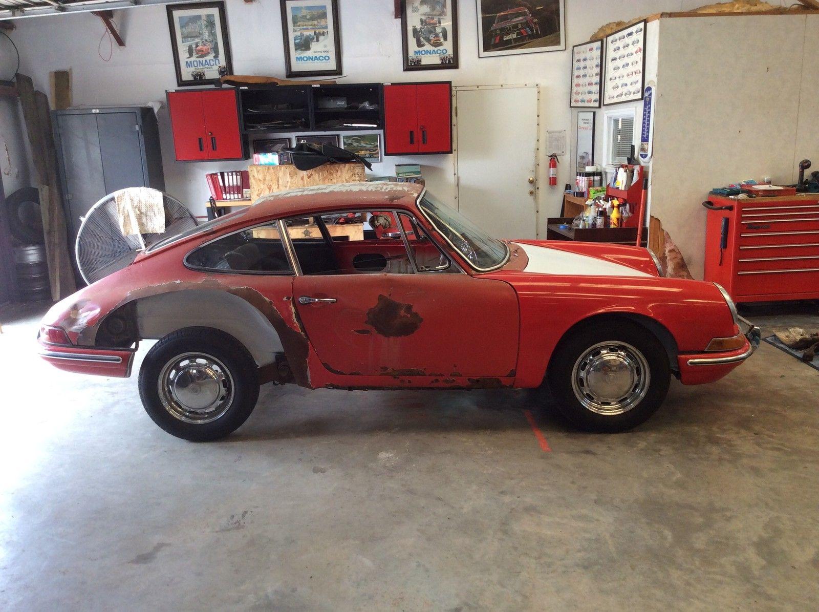 1965 Porsche 911 Restoration Project Rare Light Ivory Classic Porsche 911 1965 For Sale