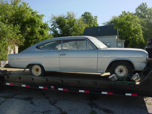 1965 Rambler Marlin Amc 2 Door Coupe Project Car Clear