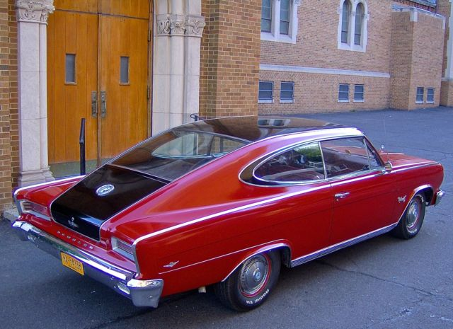 1965 Rambler Marlin Fastback Coupe V8 Engine Automatic Ps