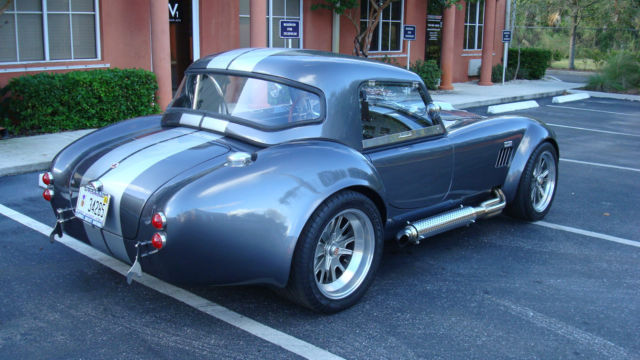 shelby cobra replica  removable hard top  ac classic shelby cobra replica
