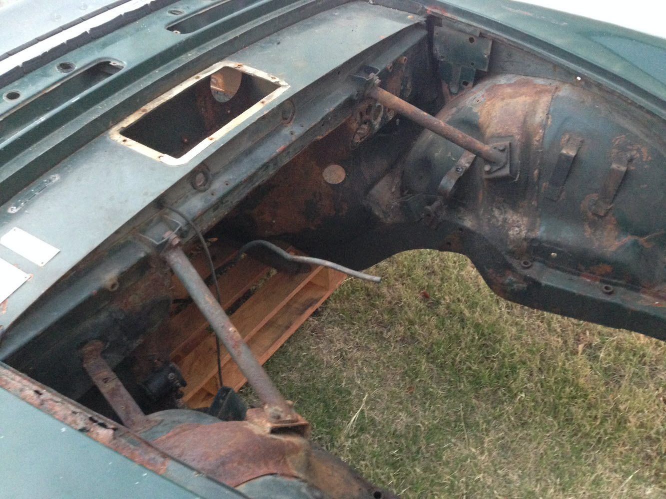 Sunbeam Tiger Parts Car Or Project on Car Hood Repair