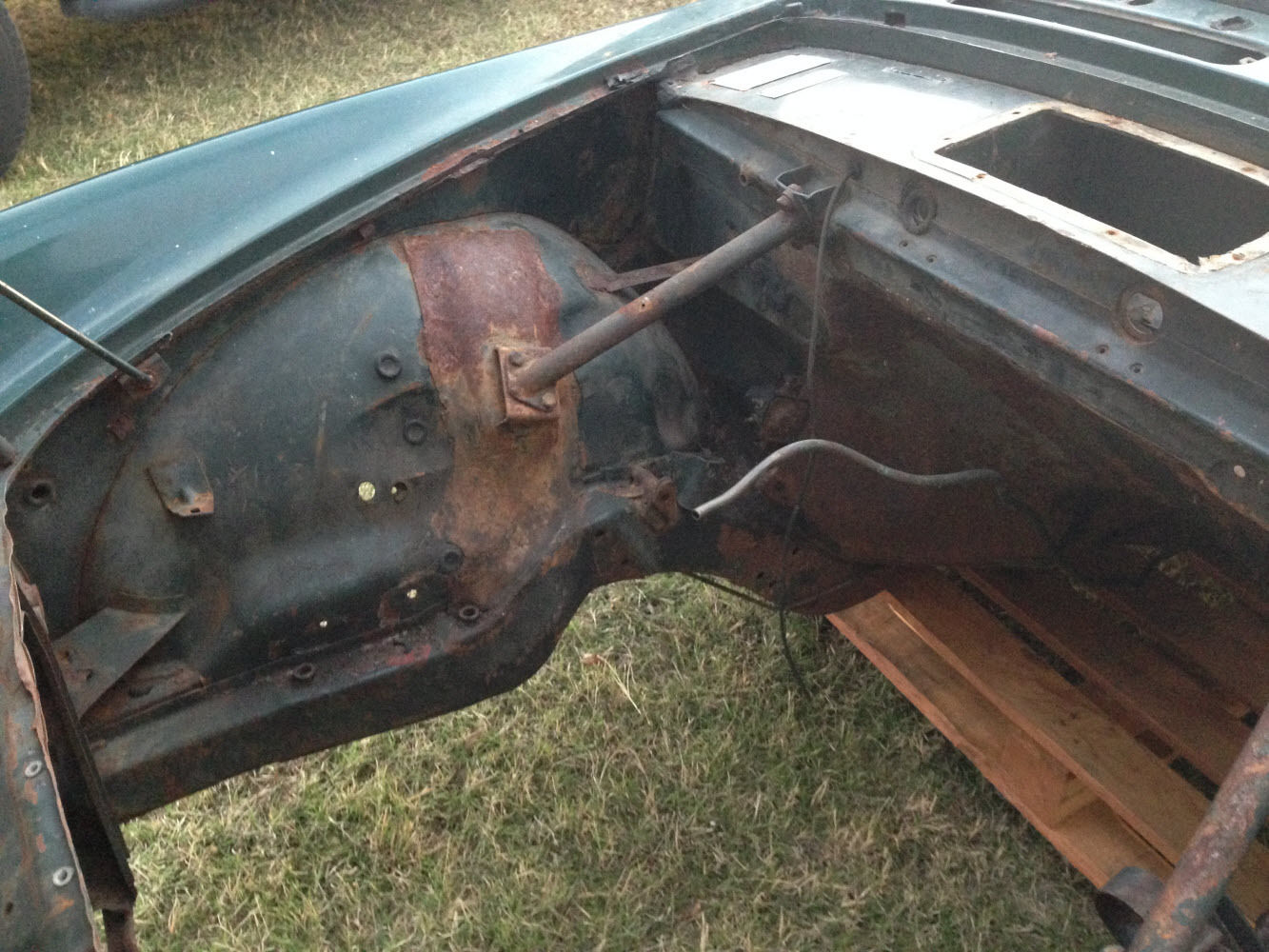 1965 Sunbeam Tiger Parts Car Or Project Classic Other