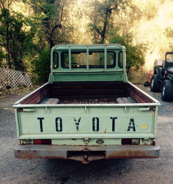1965 Toyota Fj45 Fj 45 Long Bed Classic Toyota Fj45 Fj