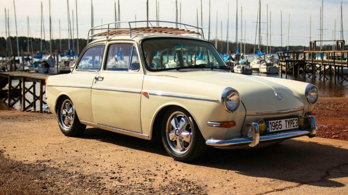 1965 Volkswagen 1500 S Notchback Vw Frame Off Restoration