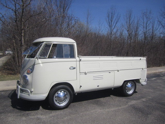 1965 VOLKSWAGEN SINGLE CAB PICKUP TRUCK KOMBI BUS SPLIT WINDOW RUNS GREAT!! - Classic Volkswagen ...