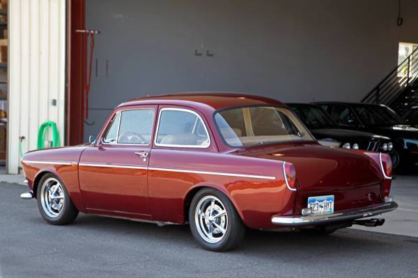 1965 Volkswagen Type III Notchback Restoration Show Car - Classic Volkswagen Type III 1965 for sale