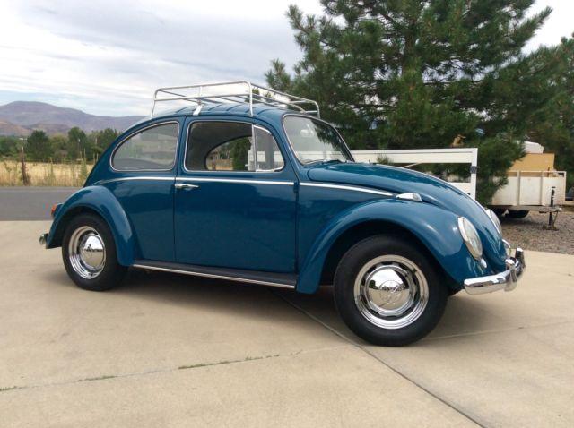 1965 Volkswagen Vw Bug Beetle New Engine Paint Interior