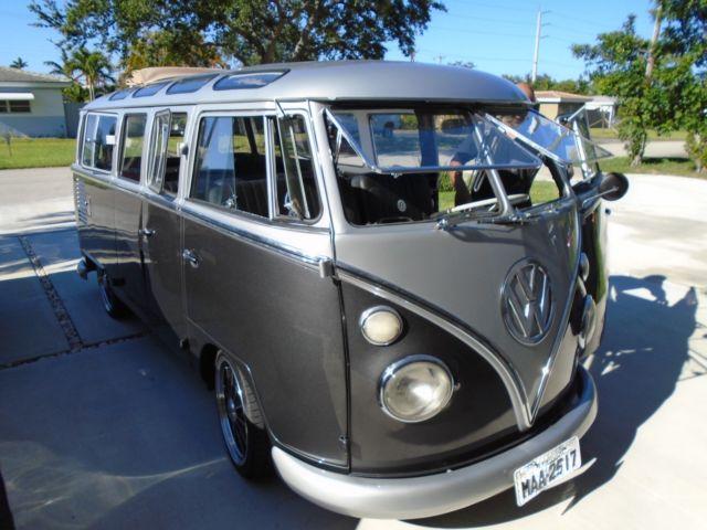 volkswagon vanagon vw kombi  window rare samba bus ragtop panorama roof classic