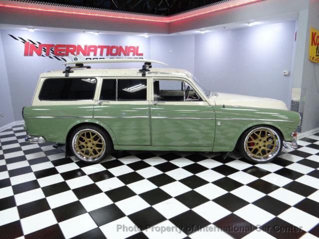 1965 Volvo 122s Amazon Restomod Custom Wagon 740 2 0 Turbo