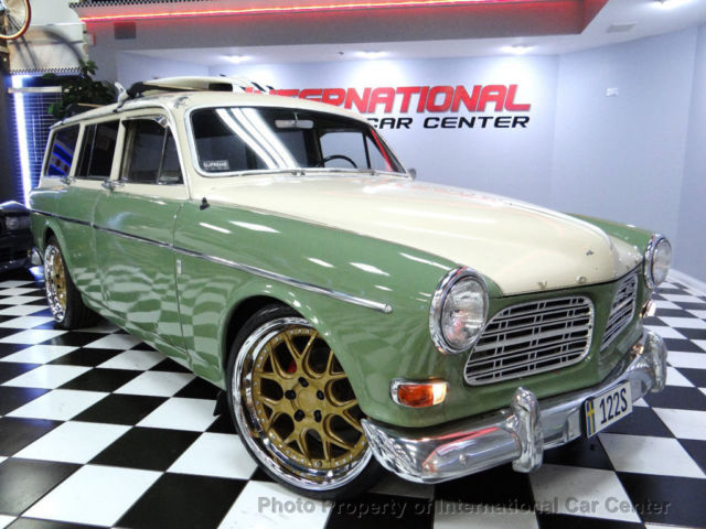 1965 Volvo 122s Amazon Restomod Custom Wagon 740 2 0 Turbo