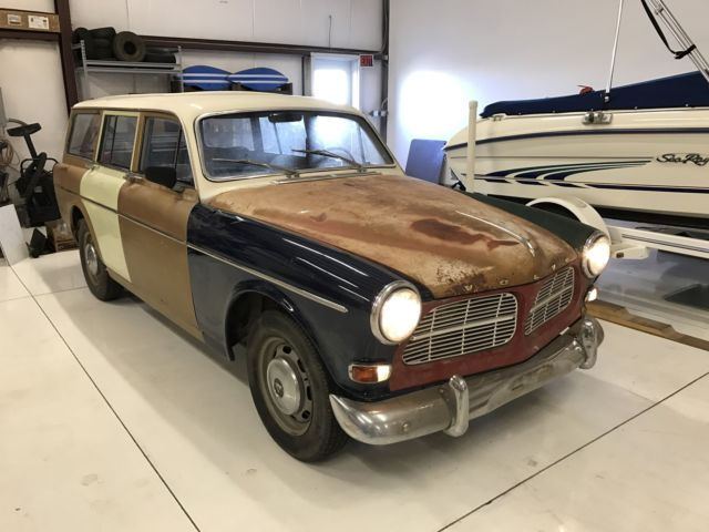 1965 volvo amazon wagon no reserve b18 m40 manual transmission classic volvo 122 1965 for sale. Black Bedroom Furniture Sets. Home Design Ideas