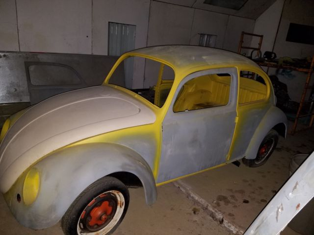1965 VW BEETLE PROJECT CAR - 80% OF PARTS INCLUDED - NO RUST
