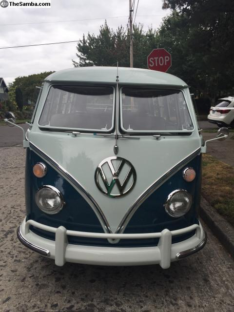 1965 VW Bus Deluxe, Show Condition, fully restored - Classic Volkswagen Bus/Vanagon 1965 for sale