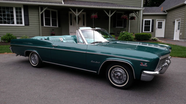 1966 427 chevy impala super sport convertible classic chevrolet impala 1966 for sale. Black Bedroom Furniture Sets. Home Design Ideas