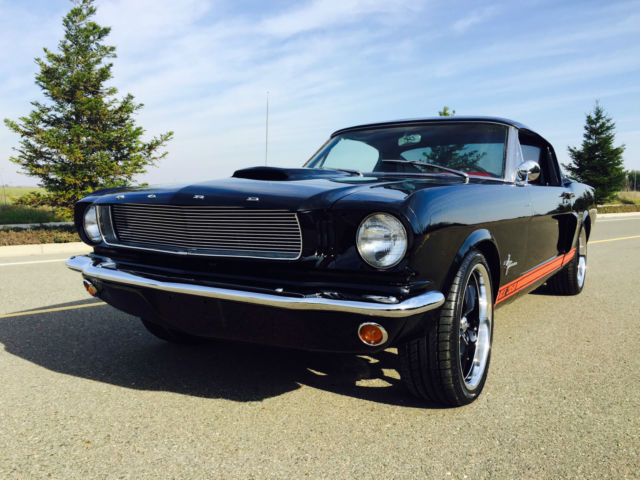 1966 65 ford mustang g t 350 shelby tribute restomod 289 v8 classic ford mustang 1966 for sale. Black Bedroom Furniture Sets. Home Design Ideas