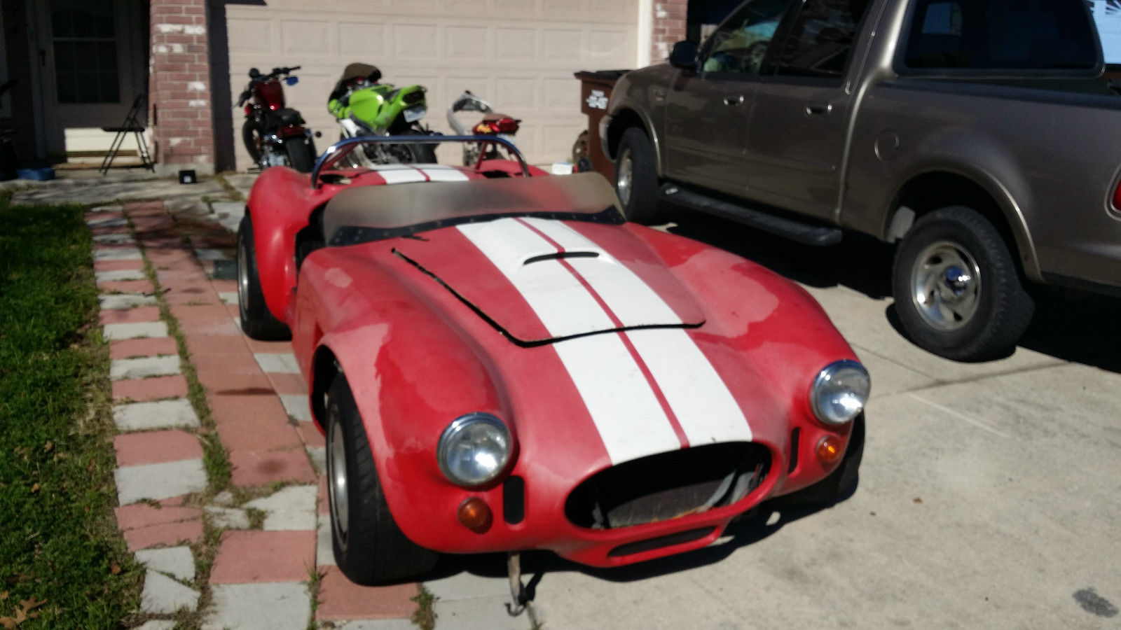 1966 AC Cobra  C4 chassis and motor - Classic Replica/Kit Makes AC