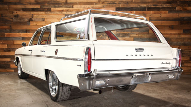 1966 Amc Rambler 770 Classic Wagon 232 At 17 Quot S K In Spare Parts Road Ready Classic Amc