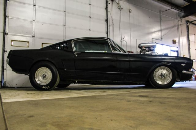 Ford Mustang Lease >> 1966 Blown Fastback Mustang Supercharged 504 Big Block ...