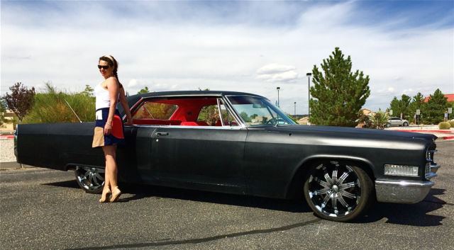 Used Cars Albuquerque >> 1966 Cadillac DeVille CRUISER SLED SLAMMED HOT ROD ...