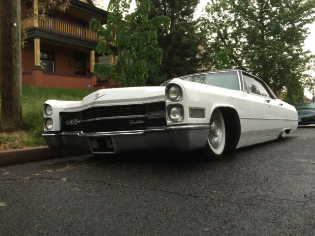 1966 Cadillac Deville Restomod Ls1 Engine Swap Air Ride Bagged Suspension