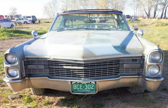 1966 Cadillac Eldorado convertible project - Classic