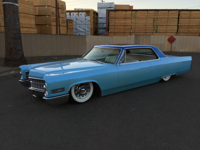 Cadillac Kustom Shaved Bagged Flaked Turn Key Driver
