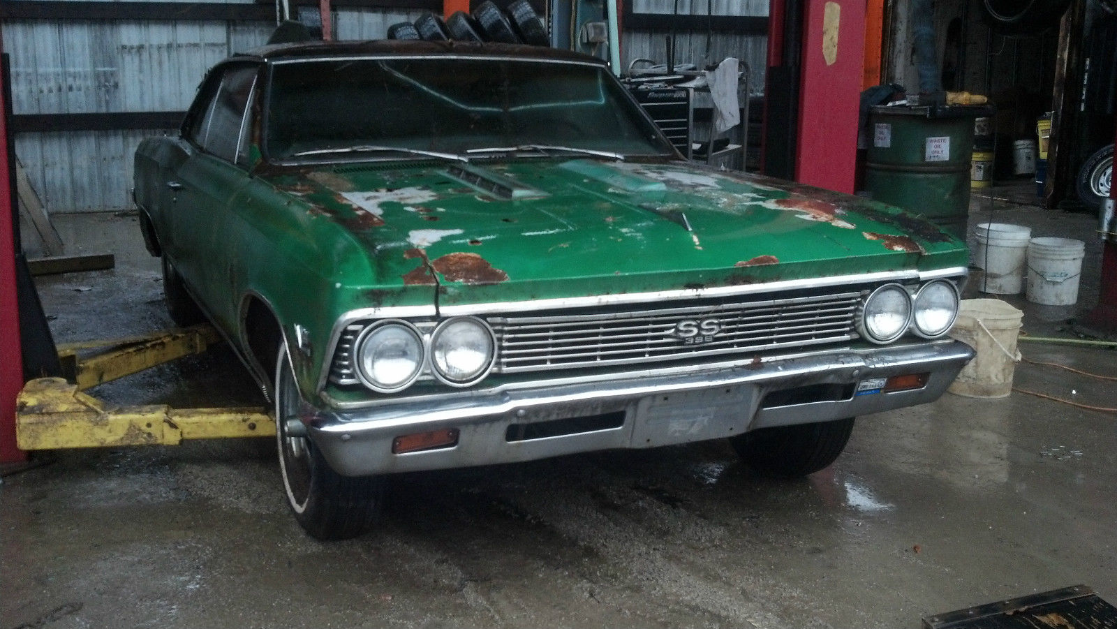 1966 Chevelle Ss 396 Convertible 138 Car Matching Numbers Classic Chevrolet Malibu