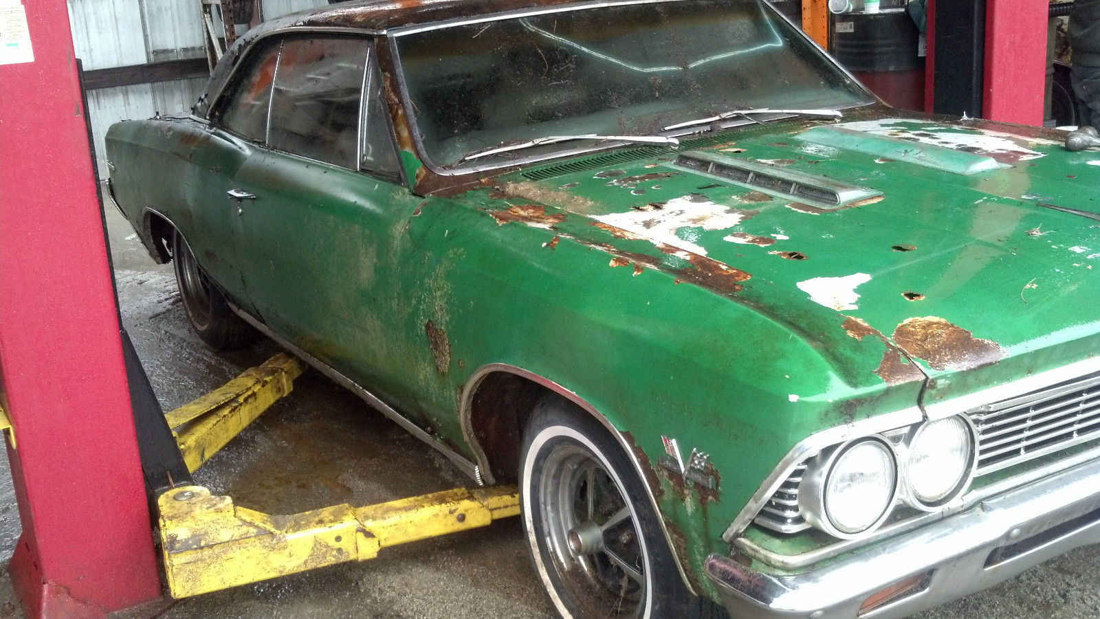 1966 Chevelle Ss 396 Convertible 138 Car Matching Numbers Classic Chevy