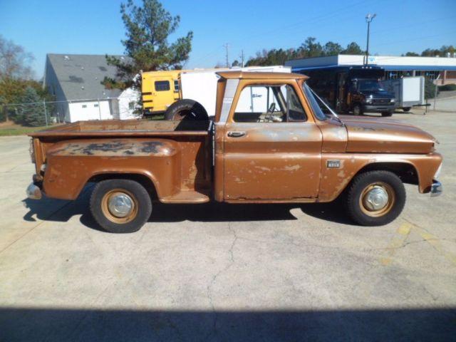 1966 Chevrolet C-10 Custom Stepside Truck Factory 283 V8 3 ...