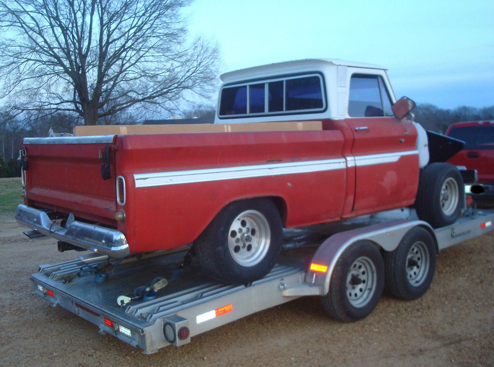 1966 Chevrolet C 10 Swb Fleetside Custom Cab Pickup