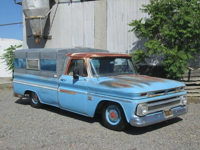 1966 Chevrolet C10 Lwb Lowered Patina Shop Truck Camper Ca