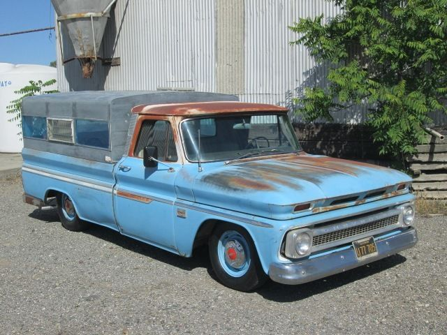 1966 Chevrolet C10 Lwb Lowered Patina Shop Truck Camper Ca