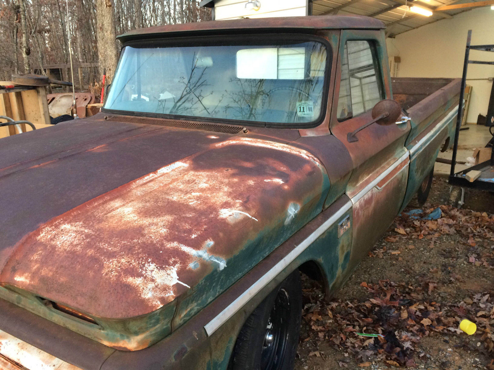 1966 Chevrolet C10 Project Truck Low Reserve Classic C