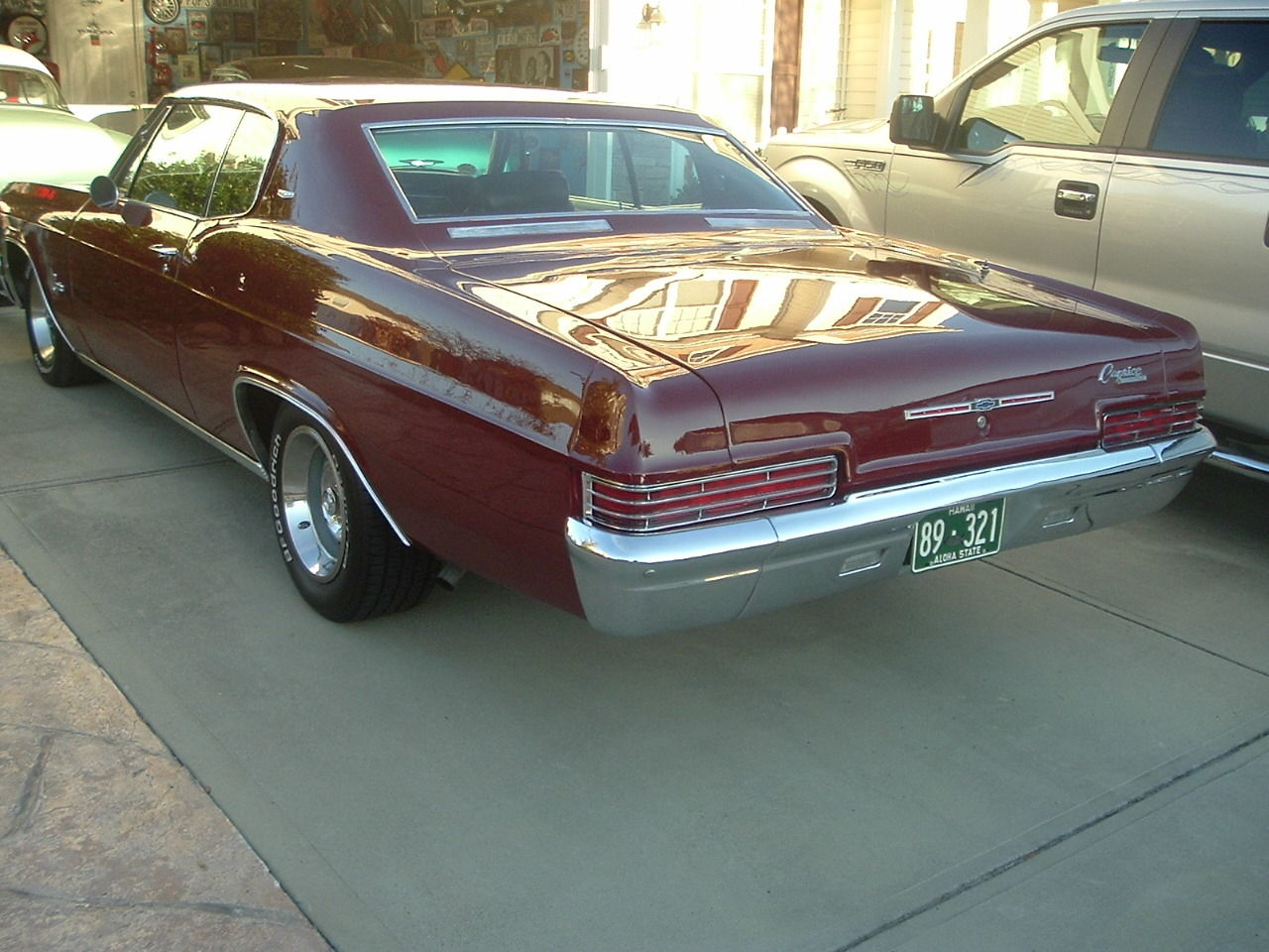 1966 Chevrolet Caprice Sport Coupe 327 Motor200r Overdriveair Cond Chevy For Sale