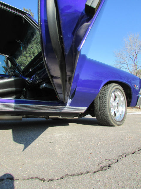 1966 Chevrolet Chevelle SS 396 numbers matching engine