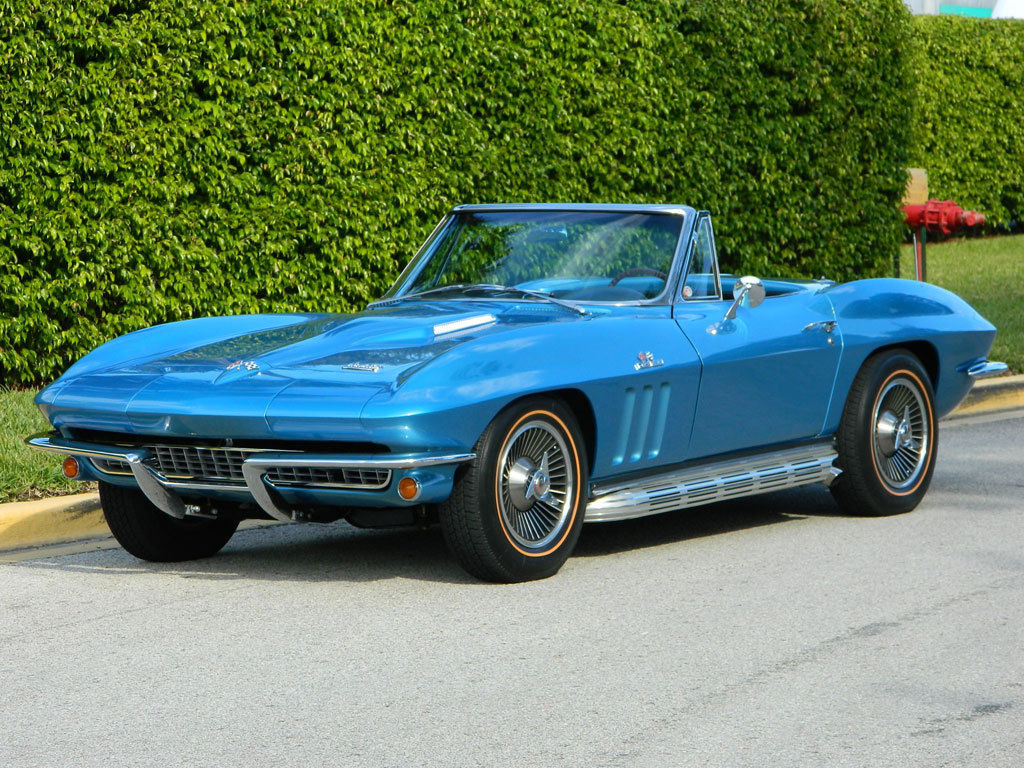 1966 Chevrolet Chevy Corvette Vette 427 Big Block Ip Code Solid Coupe