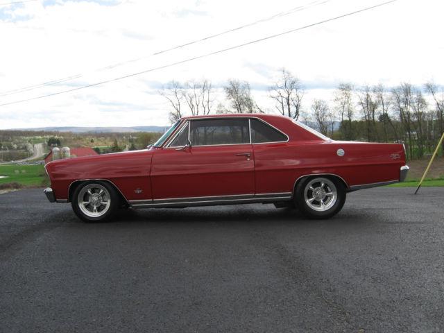 1966 Chevrolet Chevy Ii Nova Ss Classic Chevrolet Nova