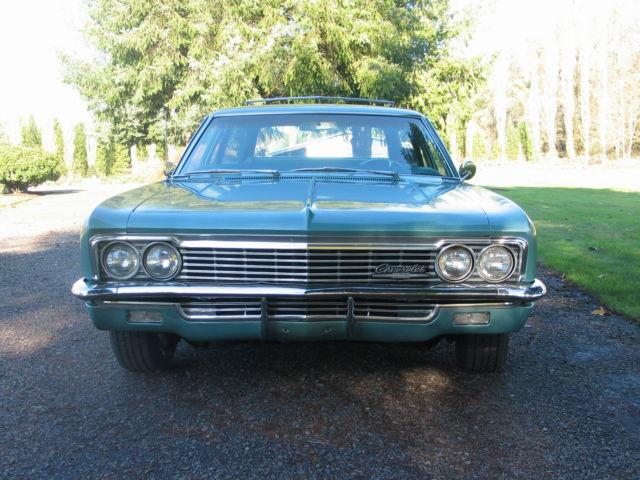 1966 Chevrolet Impala 9 Pass Station Wagon Classic