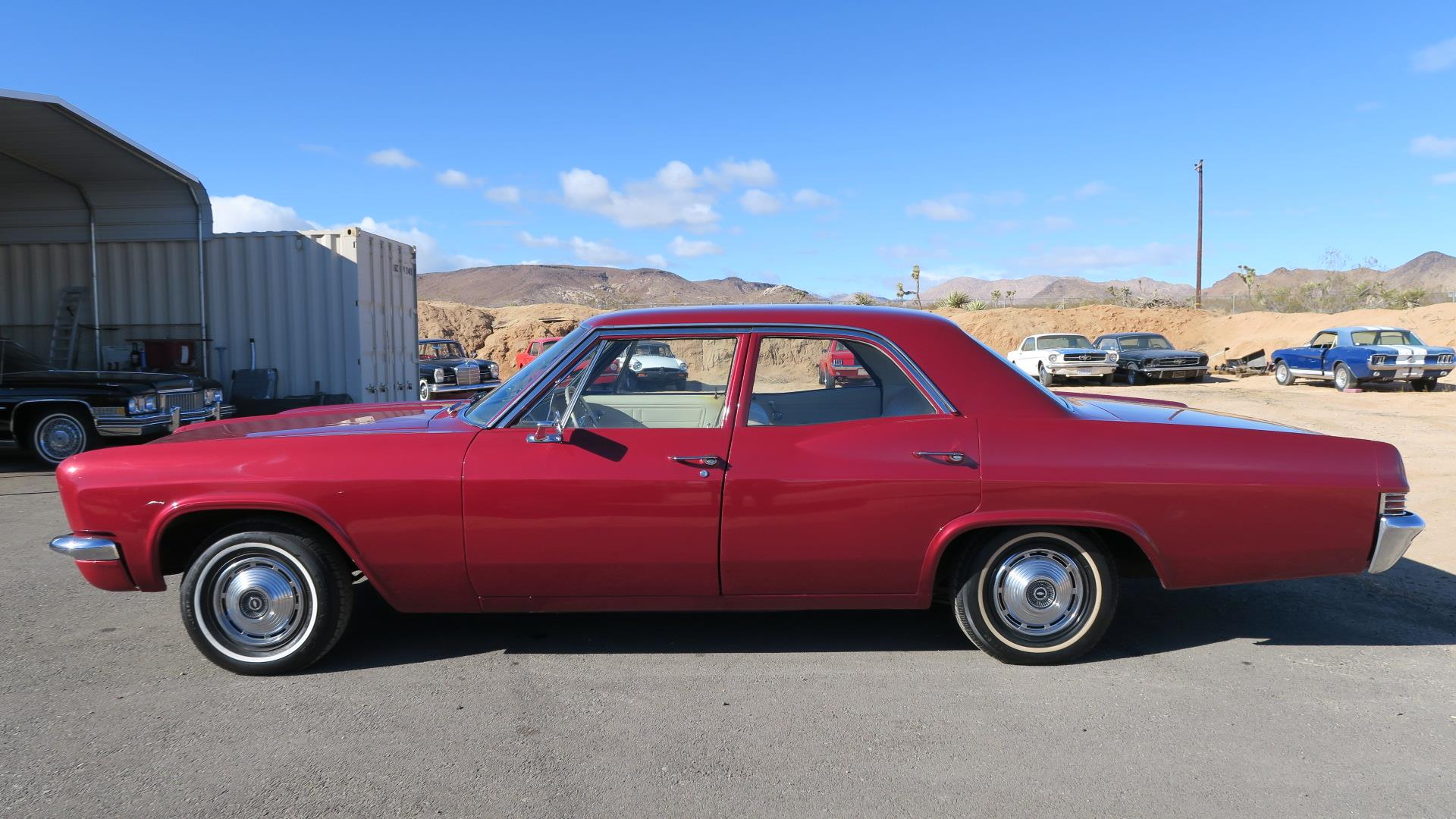 1966 Chevrolet Impala Sedan Ca Car 350 V8 Only 3200 Miles On Full Chevy Radiator Restoration