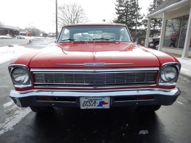 1966 chevrolet nova torch red 283 muncie 4 speed disc brakes 17. Cars Review. Best American Auto & Cars Review