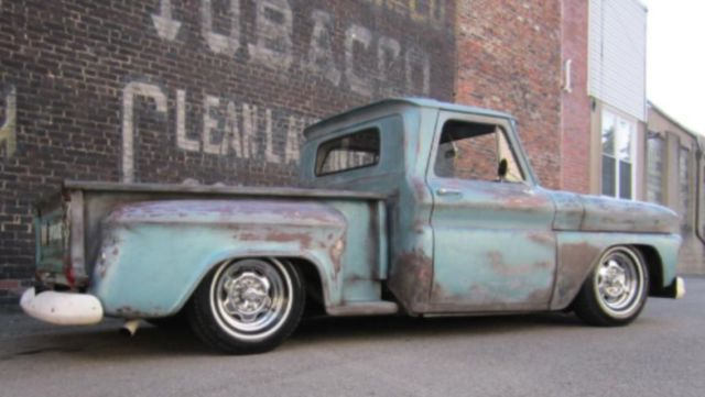 1966 Chevy C10 Bagged Rat Rod Patina Truck Classic