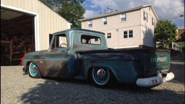 Used Cars Pittsburgh >> 1966 CHEVY C10 BAGGED RAT ROD PATINA TRUCK - Classic Chevrolet C-10 1966 for sale