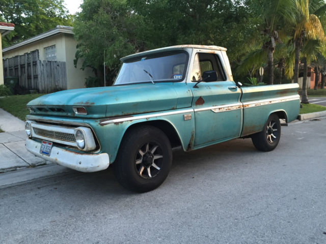 1966 Chevy C10 Shortbed Patina Truck - Classic Chevrolet C ...