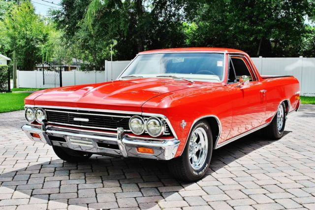 1966 Chevy Elcamino Over The Top Frame Off Restoration Ive
