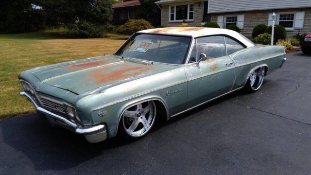 1966 Chevy Impala Hot Rat Rod Lowrider Patina Air Ride