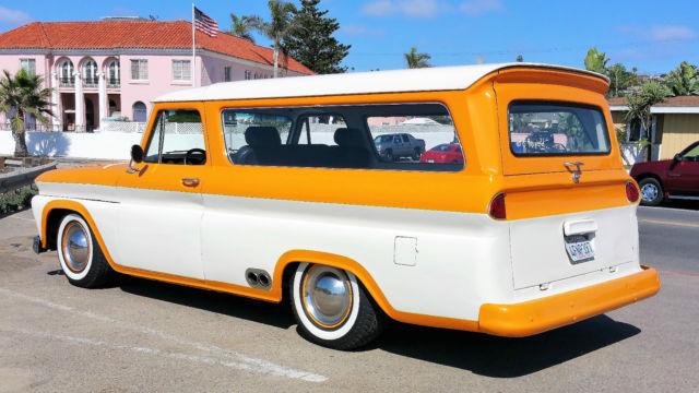 Chevrolet Suburban San Diego >> 1966 Chevy Suburban - Classic Chevrolet Suburban 19660000 for sale