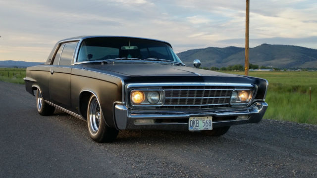 1966 Chrysler Imperial Crown Coupe 7 2l Classic Chrysler
